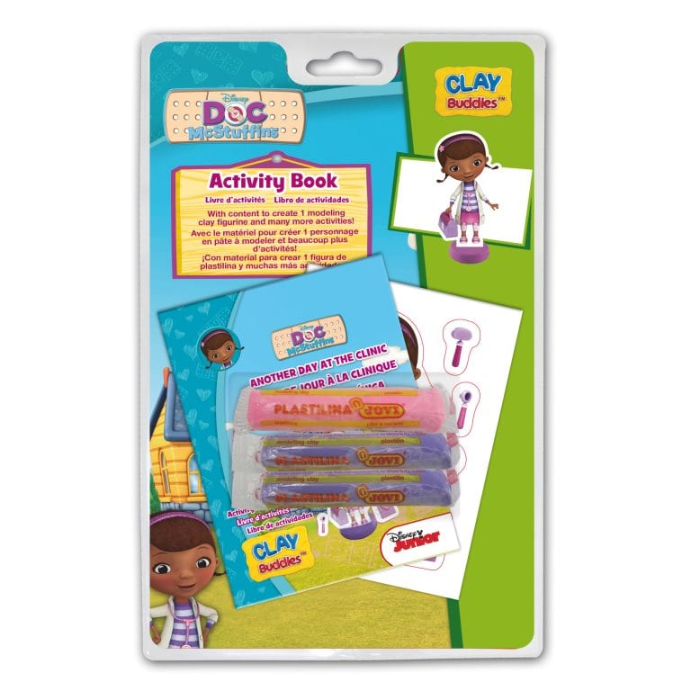 Doc Mcstuffins Clay Buddies Blister Pack Doc